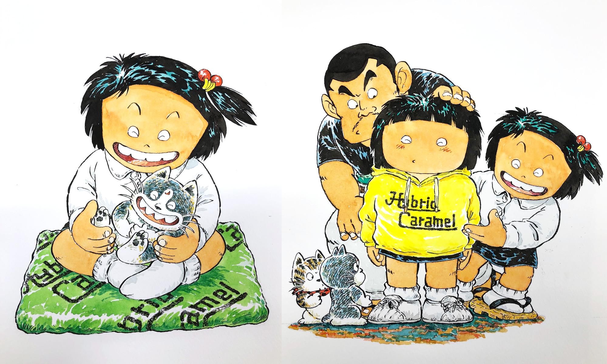 Hybrid Caramel×じゃりン子チエ